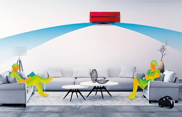 nouveau climatiseur mitsubishi electric haut de gamme mural design puget sur argens pose. Black Bedroom Furniture Sets. Home Design Ideas
