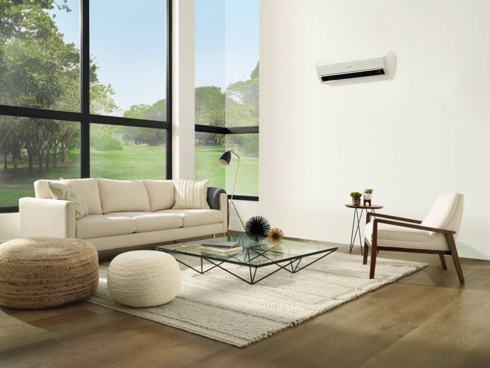 climatisation sans courant d 39 air c est possible avec le climatiseur windfree de samsung. Black Bedroom Furniture Sets. Home Design Ideas